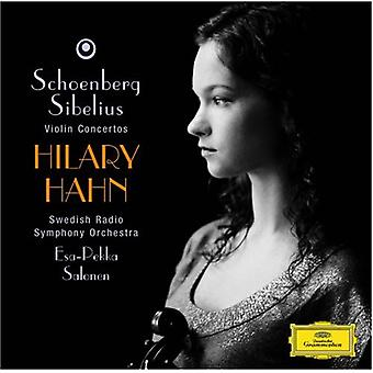 Hilary Hahn - Schoenberg, Sibelius: Violin Concertos [CD] USA import