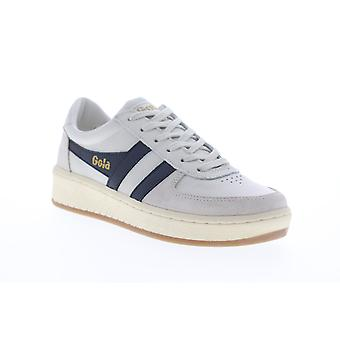 Gola Grandslam 78  Mens White Leather Lace Up Lifestyle Sneakers Shoes