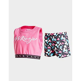 New Mckenzie Girls' Opa Tank Top/Shorts Set Pink