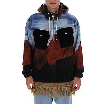 Palm Angels Pmea115e20fab0014084 Homme's Sweat-shirt acrylique multicolore