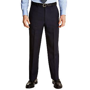 Farah Mens Farah Flex Trouser Pants With Self-Adjusting Waistband