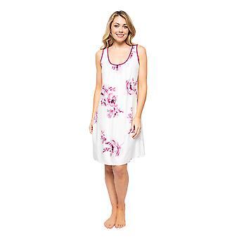 サイバージャミーズノヴァ4581女性&アポス;sクリームミックスベリーフローラルプリントナイトドレス