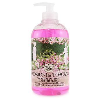 Emozioni In Toscana  Hand & Face Soap With Iris Florentina - Garden In Bloom - 500ml/16.9oz
