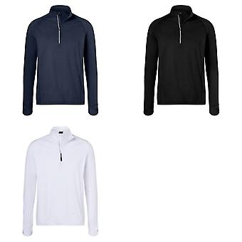 James and Nicholson Mens demi Zip Top Sports