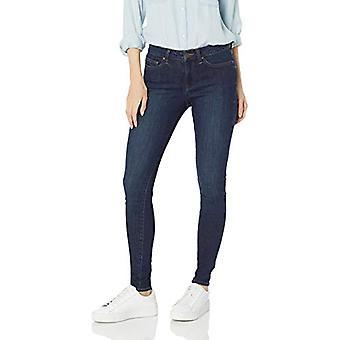 Brand - Daily Ritual Women's Mid-Rise Skinny Jean, Washed Indigo, 29 (...