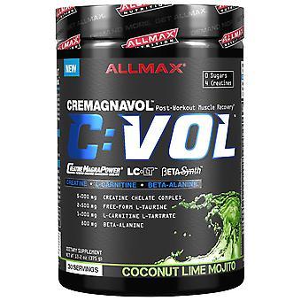 ALLMAX Nutrizione, CVOL, Recupero muscolare post-allenamento, Coconut Lime Mojito, 13.2