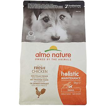 Almo Nature Holistic Dry Dog Food X-Small/Small Breed With Chicken And Rice - 2kg
