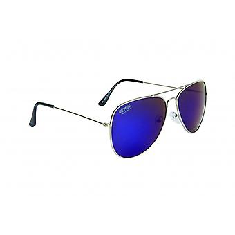 Sunglasses Unisex Pilot Cat.3 silver (022-0150)
