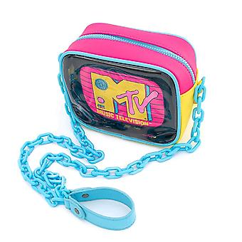 MTV Clear Neon 2 piece Crossbody