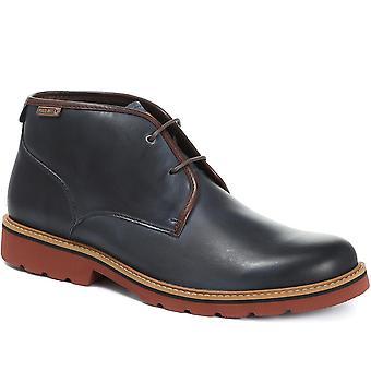 Pikolinos Mens Bilbao Leder Lace-Up Chukka Boot