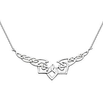 Heritage Sterling Silver Celtic Twist Necklace 9219HP026