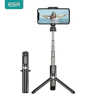 Portable Foldable Handheld Smartphone Camera Tripod - Bluetooth Selfie Stick