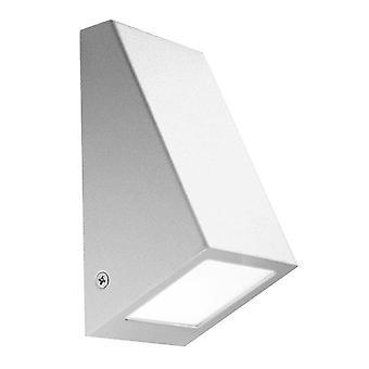 1 Ljus utomhusvägg Ljusgrå IP44