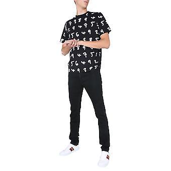 Paul Smith M1r919tep193879 Men's Black Cotton T-shirt