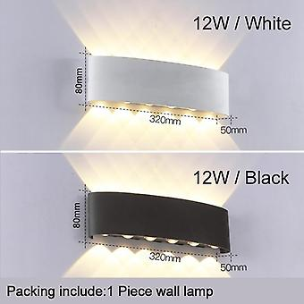 Waterproof Cob Led  Aluminum Wall Lamp Up Down Lights For Modern Home Decor  Corridor  Balcony