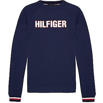Tommy Hilfiger Signature Cuff Sweatshirt, Desert Sky, X-Large