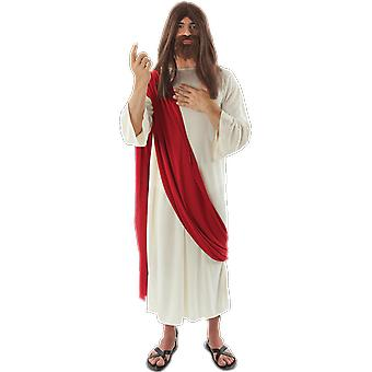 Orion kostuums mens Jezus Christus religieuze geboorte mantel fancy dress kostuum