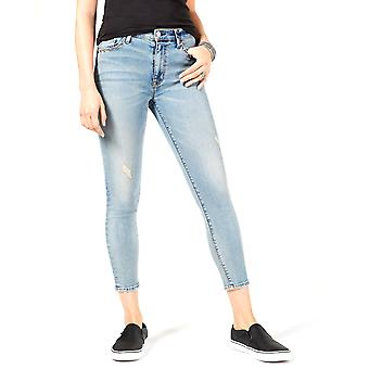 Hudson | High-Waist Super Skinny Crop Jeans