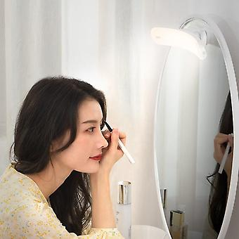 Usb Led Light Makeup Mirror Vanity Adjustable Lamp Portable For Bathroom