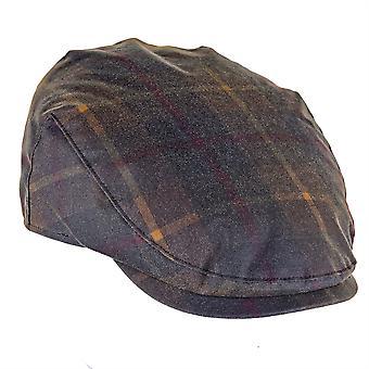 ZH183 (هنتر XL 62cm ) تشارلز تارتان قبعة مسطحة