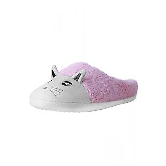 TUK Shoes Pink Kitty Vegan Fuzzy Fur Slipper