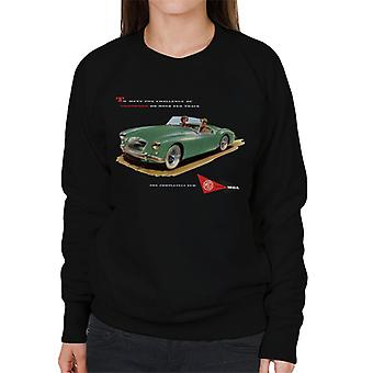 MG Tiellä ja radalla British Motor Heritage Women's Collegepaita
