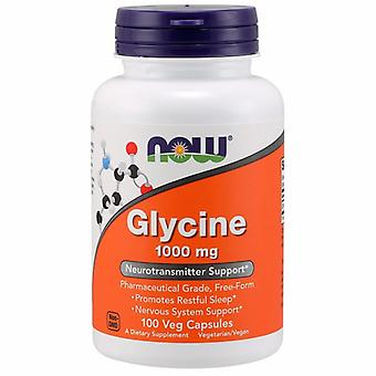Now Foods Glycine, 1000 mg, 100 Caps