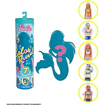 Barbie színes felfedi hableány meglepetés baba