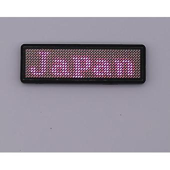 Bluetooth Led Name Badge Reclame, Usb Name Tag Sign Badge - Mobiele App