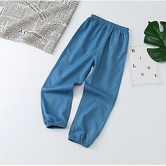 Children Casual Summer Fashion Soft Cotton Denim Pants For Boys Girls