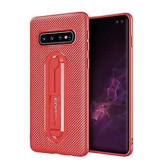 Soft Anti-impact Case med stöd för Samsung Galaxy J4 2018 / J400 Red lingyik