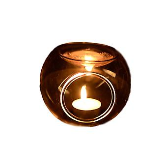 Essential Fragrance Oil Holder - Micro Landscape Glass Candlestick Candle Holders