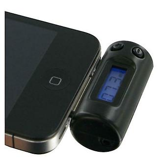 Kit FM Transmitter Compatible with iPod/iPhone/iPad 30 Pin Devices - Black