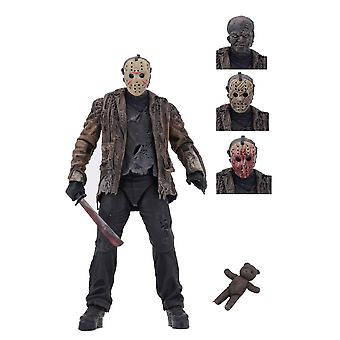 Jason Voorhees Ultimate Edition Poseable Figure from Friday the 13th Freddy vs Jason