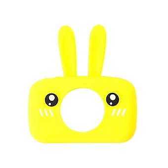 1pc Baby Cartoon Camera Case Rabbit / Bear, Cartoon Collocation Camera Rubber,