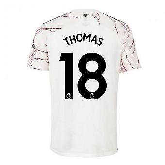 2020-2021 آرسنال أدداس خارج ملعب كرة القدم قميص (توماس 18)