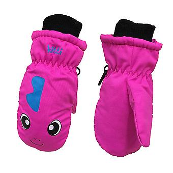 Children Winter Warm Ski Gloves- Boys/girls Kids Sports Waterproof, Non-slip