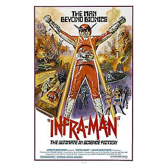 The Super Inframan Movie Poster (11 x 17)