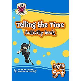 Ny fortæller time aktivitet bog for aldre 5-7