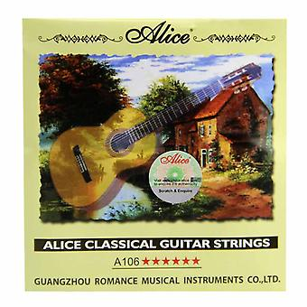 Alice Classical Guitar Clear Nylon Strings