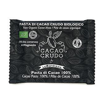 100% organic cocoa mass bar (15 pcs expo) 30 g