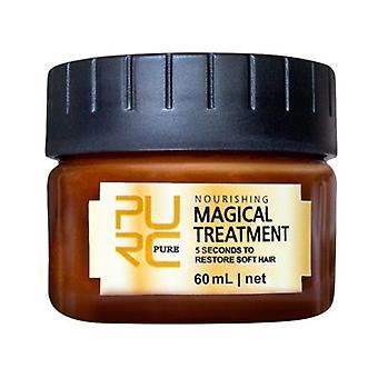 Magische Keratine haarbehandeling masker voor hoofdhuid behandeling