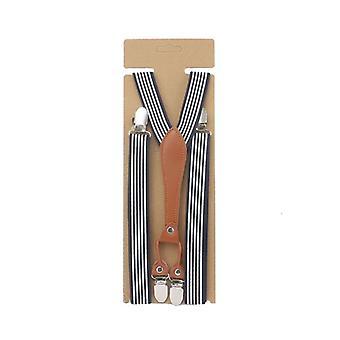 Skinny Slim Basic Women Suspender, Handmade Female Leather Brace