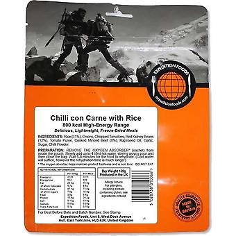 Ekspedition Foods Chilli con Carne med ris - 800kcal