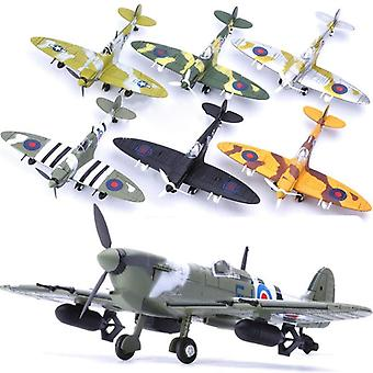 Fighter Model - Aircraft Diecast 1/48 Scale War-2 Spitfire
