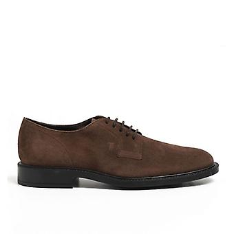 Stringed Tod's In Rich Brown Ante