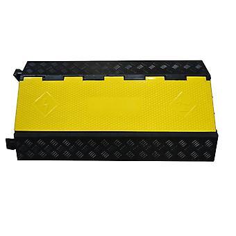 3-kanavainen kuminen sähköjohtokansi, suoja - 3-paikkainen kaapeliramppi