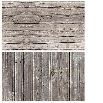 Pvc Photography Wood Printing Backdrops Waterproof Marble Background For Camera