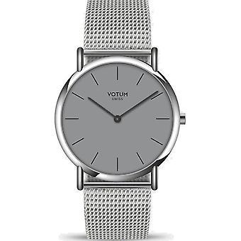 VOTUM - Ladies watch - SLICE SMALL - PURE - V05.10.10.91 - Milanaisband - Steel