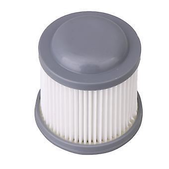 Waschbarer und wiederverwendbarer Vakuumfilter Weiß Grau Höhe 8,1cm/3,19In